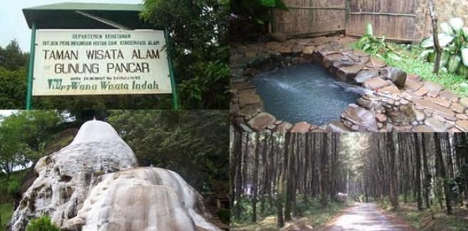 Kolam air panas Gunung Pancar