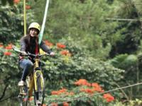 Menikmati Teh Dengan Menyaksikan Lambaian Pemandangan Indah Di Alam Wisata Malino Highlands