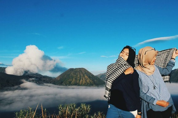 Objek wisata di Gunung Bromo