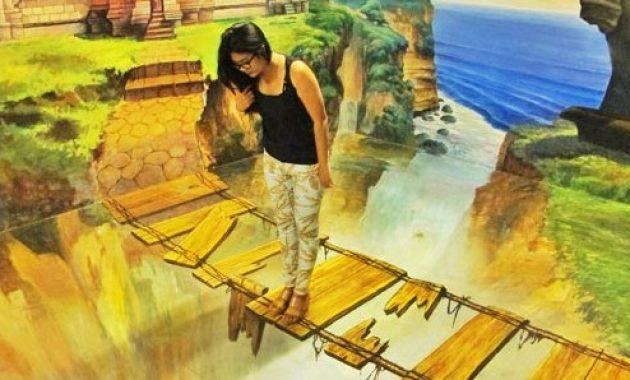 Bali Trick Art Museum, Tipuan Wisata Bali yang Sangat Menawan