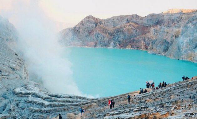 Wisata Kawah Ijen Banyuwangi, Memacu Adrenalin Di Wisata Banyuwangi
